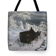 Winters Journey Tote Bag