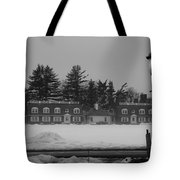 Winter's Light Tote Bag