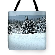 Winter's Love  Tote Bag