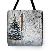 Winter's Peace Tote Bag