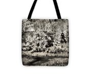 Winter's Sepia Grip Tote Bag