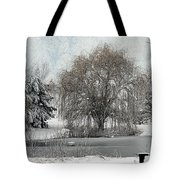 Winter's Storm Tote Bag