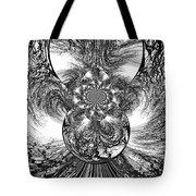 Winter's Vortex Tote Bag