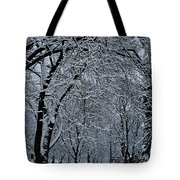 Winter's Work Tote Bag
