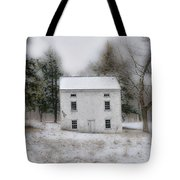 Wintertime In Valley Forge Tote Bag by Bill Cannon