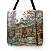 Wintertime Sadness Tote Bag by Ayse Deniz