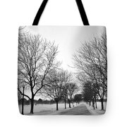 Windy Road Tote Bag