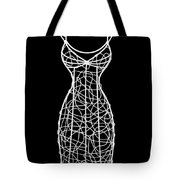 Wire Mannequin Tote Bag
