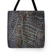 Wire Mesh Tote Bag