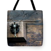 Wire Message Tote Bag