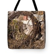 Wire Roll Tote Bag