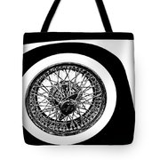 Wire Wheel Tote Bag