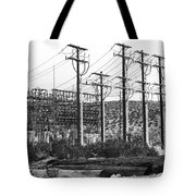 Wired Palm Springs Tote Bag