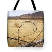 Wired Western Tote Bag
