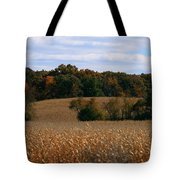 Wisconsin Fields In Late Summer Tote Bag