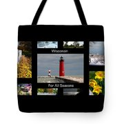 Wisconsin For All Seasons Tote Bag