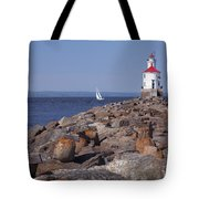 Wisconsin Point Lighthouse 1 K Tote Bag