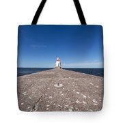 Wisconsin Point Lighthouse 6 B Tote Bag