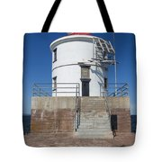 Wisconsin Point Lighthouse 6 F Tote Bag