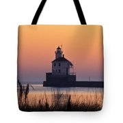 Wisconsin Point Lighthouse - Fs000216 Tote Bag