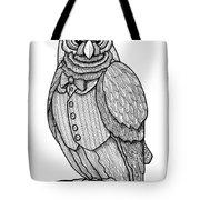 Wisdom Owl Tote Bag
