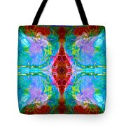 Wisdome And Mystery Abstract Pattern Artwork By Omaste Witkowski Tote Bag