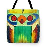 Wise Bird Totem Tote Bag