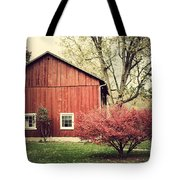 Wise Old Barn Summertime Tote Bag