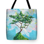 Wish Bone Tree Tote Bag