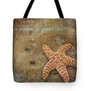 Wish Upon A Starfish Tote Bag