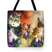 Wishing You A Blessed Advent Tote Bag