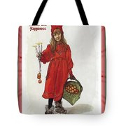 Wishing You Health Wealth And Happiness Greeting Card Tote Bag