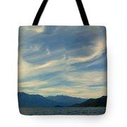 Wispy Clouds Tote Bag