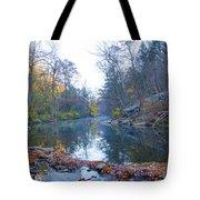 Wissahickon Creek - Fall In Philadelphia Tote Bag