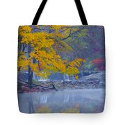 Wissahickon Morning In Autumn Tote Bag