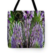 Wisteria Abstract Tote Bag