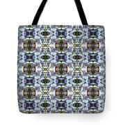 Wisteria  Flower Pattern Tote Bag