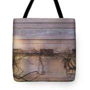 Wisteria In Winter Tote Bag