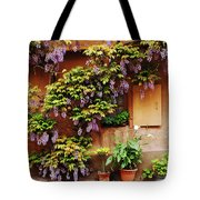 Wisteria On Home In Zellenberg 4 Tote Bag