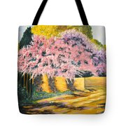 Wisterias Santa Fe New Mexico Tote Bag