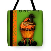 Witch Cupcake 3  Tote Bag