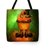 Witch Cupcake 4  Tote Bag