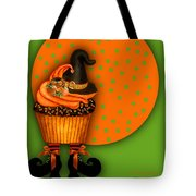 Witch Cupcake 5 Tote Bag