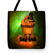 Witch Cupcake 6 Tote Bag