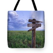 Witch Way To Oz Tote Bag
