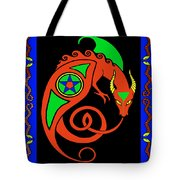 Witches Dragon Tote Bag
