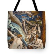 Witches Tote Bag by Hans Baldung Grien