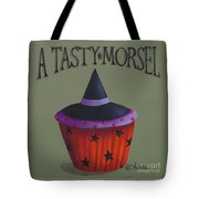 Witches Hat Tasty Morsel Cupcake Tote Bag