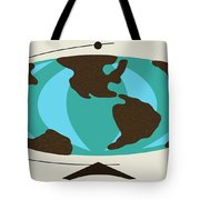 Witco World Map Tote Bag