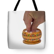 With A Grain Of Salt - Featured 3 Tote Bag by Alexander Senin